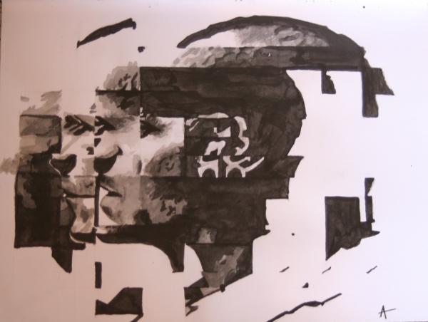 Chester Bennington por Aureliiie